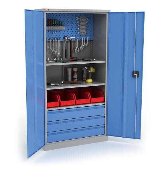 Шкафы для инструментов металлические своими руками